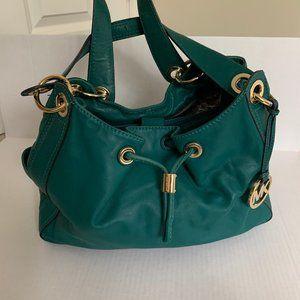 Michael Kors Ludlow Large Lambskin Leather Bag